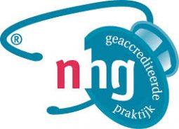 NHG praktijkaccreditatie logo